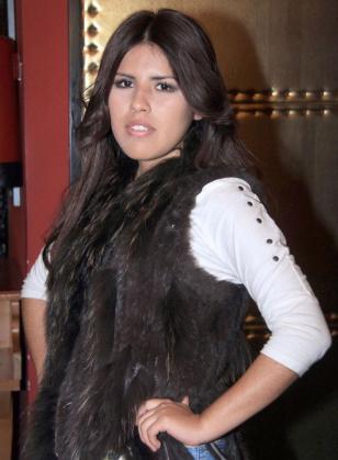 María Isabel Pantoja, hija de la tonadillera Isabel Pantoja, durante una sesión fotográfica por motivo de su 18 cumpleaños.