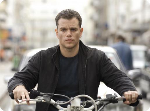 Matt Damon, como Jason Bourne.