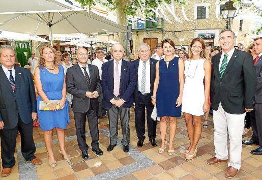 Crescencio Alonso, Maribel Crespí, Antonio Gómez, Tolo Oliver, Joan Albertí, Margalida Durán, Belén Soto y Carlos Simarro.
