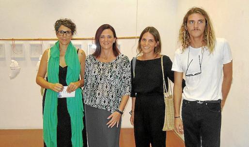 Aina Cifre, Caterina Vallés, Carolina Bustos y Toni Salom.