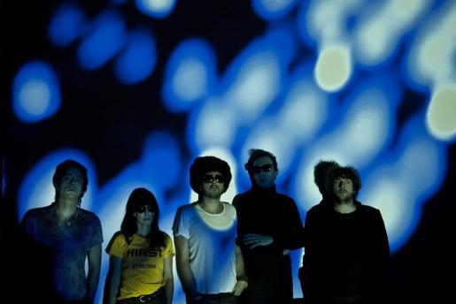 Los miembros del grupo El Columpio Asesino, que presentan su nuevo álbum este sábado en la sala Es Gremi de Palma.