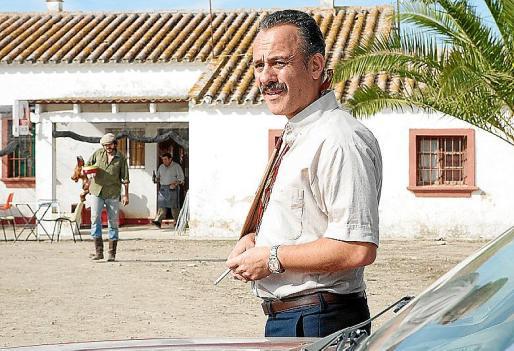 Javier Gutiérrez en una escena de la película 'La isla mínima'.