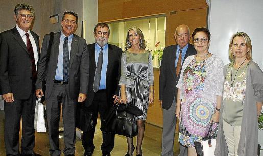 Herve Germà, Miquel Samper, Josep Canício, Teresa Casillas, Miquel Massot, Regina Vallés y Bruna Negre.