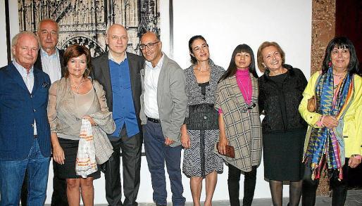 Lutz Schiffus, Dieter Ronte, Margalida Vidal, Roland Fischer, Joan Carles e Isabel Gomis, Pan Yaping, María Esperanza Bernat y Magdalena Ferraté.