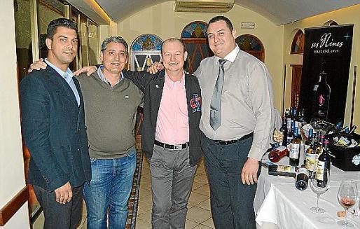 Israel Ruiz, Toni Torrens, Patrick Paulen y Alfonso Montilla.
