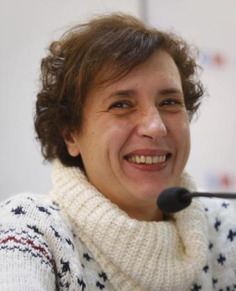Teresa Romero, la primera española contiagiada de ébola en España.