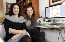 Carla Centelles y Tita Tur