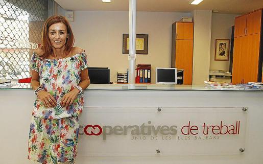 Malena Riudavets, presidenta de la Federación de Cooperativas de Balears.