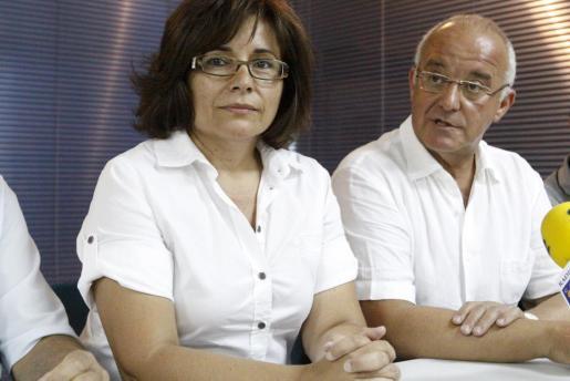 Pepita Gutiérrez y Pepe Sala en una foto de archivo.