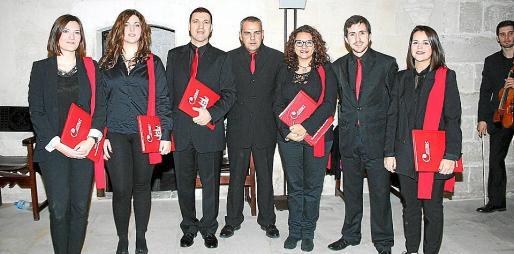 Itziar Vicens, María Antonia Fernández, Antonio Salvá, Manuel Castillo, María del Mar Morey, Xisco Prats y Marga López.