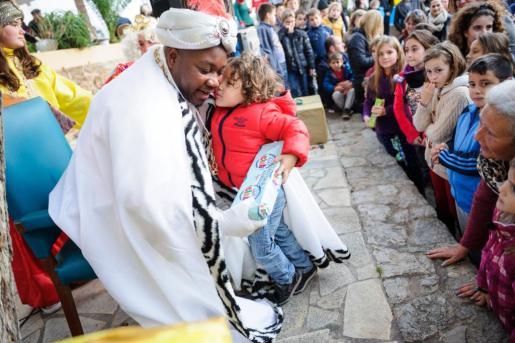 EIVISSA / IBIZA: Cabalgata Reyes Magos Sant Joan de Labritja.