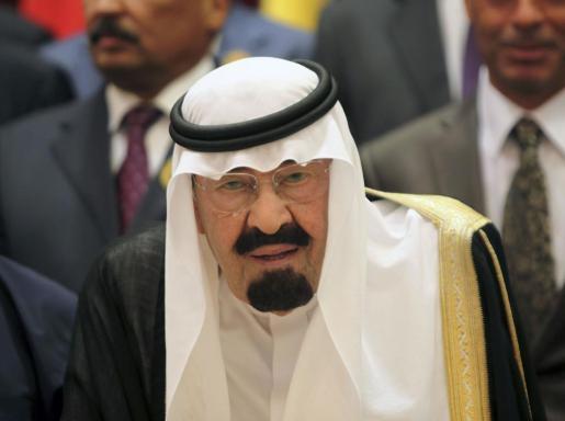 El rey de Arabia Saudí, Abdullah bin Abdulaziz , fallecido este viernes, en una imagen de archivo tomada en agosto de 2012 en la apertura de la Conferencia Árabe.