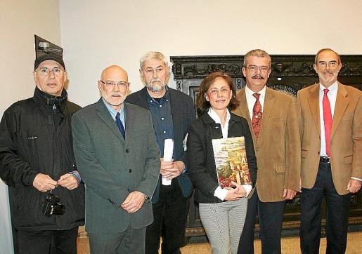 Adriano González, Ramón Rotger, Ángel Aparicio, Aina Jiménez, Teodoro Pou, Antonio Diéguez y Fulgencio Coll.