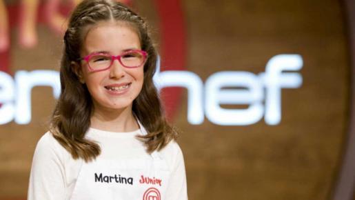 La mallorquina de 11 años Martina, finalista del programa Masterchef Junior2