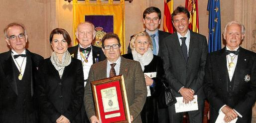 Macià Tomàs, Margalida Durán, Alfonso Ballesteros, Llorenç Huguet, Teresa Martínez, Martí Sansaloni, Mateo Isern y Bartomeu Anguera.