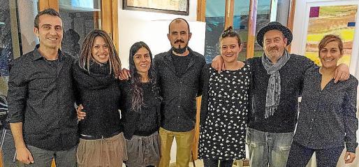 Llorenç Gelabert, Antònia Bergas, Francina Martín, Steven Vives, Maria Magdalena Garcias, Miquel Massutí y Mar Agüera.