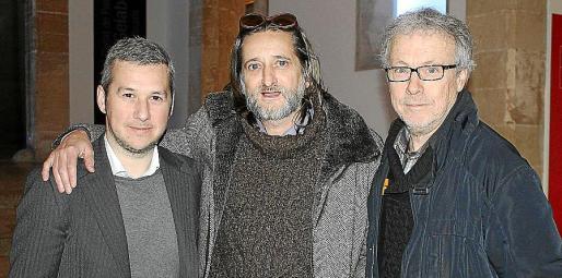 Fran Reus, José Aranda y Luis Maraver