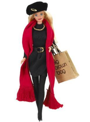 Imagen de archivo de una muñeca Barbie.