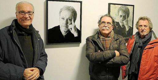 Tomeu Vives, Tolo Albertí y José Luis Ponce.