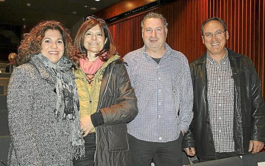 Marga Palmer, Toñi Llabrés, Biel Massanet y Guillem Jaume.