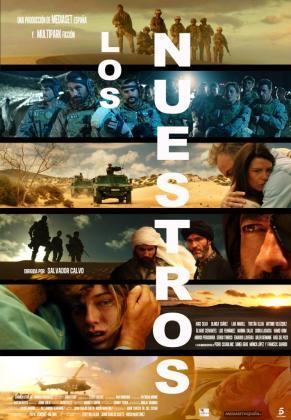 Cartel promocional de la miniserie 'Los Nuestros'.