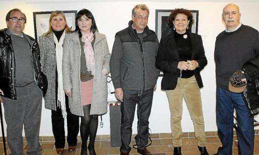 Miquel Àngel Benito, Jana Bajtalova, Marcela Szabo, Toful Colom, Francisca Llabrés y Vicenç Palmer.
