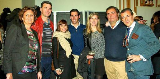 Cristina Planas, José Marcellán, Verónica Tejedor, José Insua, Lydia Pérez, Fernando Robledo y Jorge Sainz de Baranda.