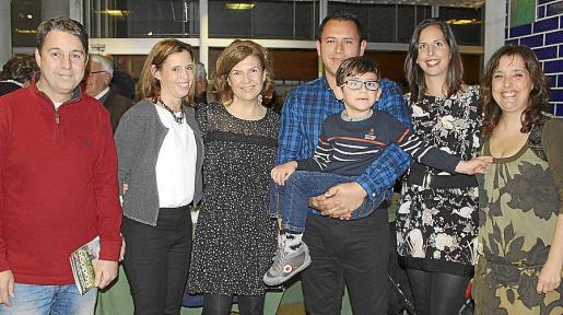 Joan Mascarell, Ana Nadal, Angel Piqueras, Ricardo Mendoza, Ainhoa Samper y Rodrigo, y Desirée López.