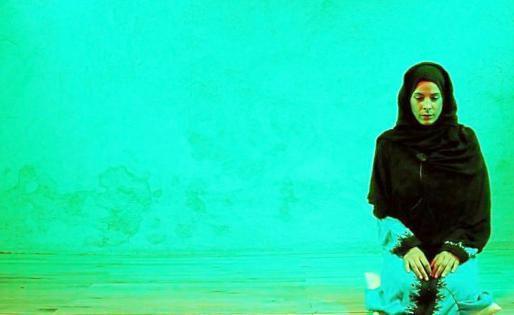 Un momento de 'Fátima en Teherán' protagonizada por Raquel Quintana.