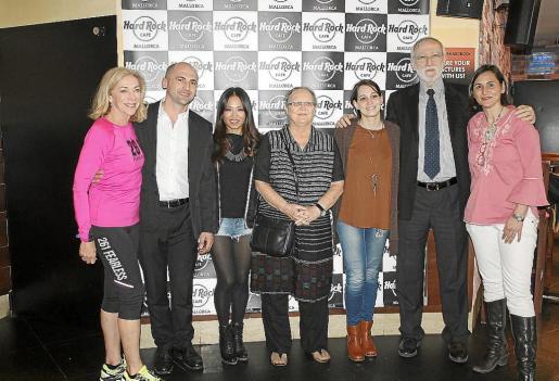 Kathrine Switzer, Lulzim Puci, Usun Yoon, Anna Ferrer, Laura Naranjo, Jordi Holgado e Isabel Pizà.