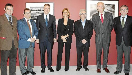 Bartomeu Alcover, Llorenç Huguet, Xicu Costa, Margarita Pérez-Villegas, Miguel González-Navarro, Josep Francesc Conrado y Joan Rotger.