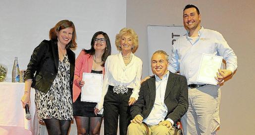 Clara Gil Pidal, Priscila Monserrat, Cristina Martín, Rafa Winckleman y José Cordón