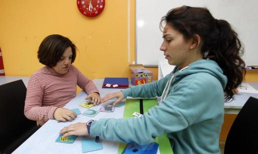 Apfem trabaja con 35 personas con autismo. Foto: DANI ESPINOSA