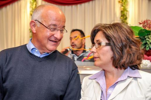 Pepe Sala y Pepita Gutiérrez en una foto de archivo.