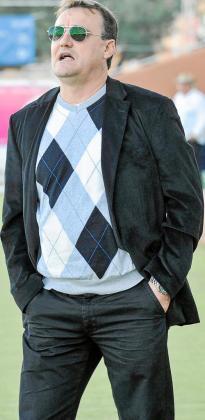 Mario Ormaechea, entrenador de la Peña Deportiva.