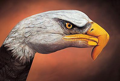 En las manos es capaz de reflejar prácticamente cualquier tipo de animal con un realismo asombroso.
