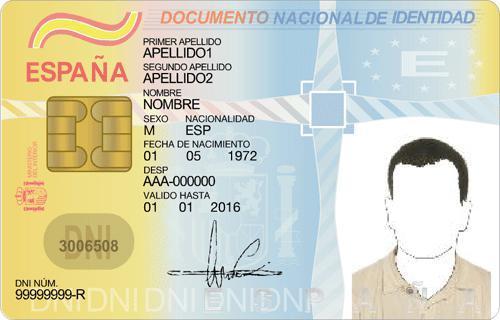 El reglamento de la Ley de Prevención de Blanqueo de Capitales y Financiación del Terrorismo exige la digitalización del Documento Nacional de Identidad y que éste se encuentre en vigor.