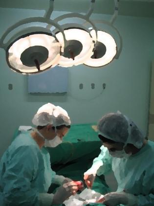 Imagen de archivo de un quirofano.