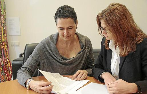 Las abogadas Maria Darder Adrover y Diana Díaz-Tendero son las representantes en la Isla de la Asociación de Perjudicados de Entidades Financieras (APDEF).