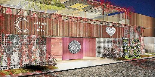 Imagen de la fachada del local que va a fusionar cocina, música, arte y espectáculo.