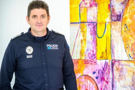 Una foto de archivo del inspector jefe de la Policía Local de Sant Antoni, Javier Verdugo Sedas.