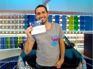 Jaume Rigo gana un coche en 'La ruleta de la suerte'
