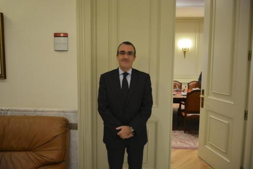 Juan Pedro Yllanes, en una imagen de archivo.