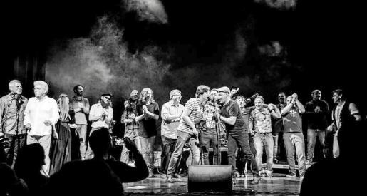 El concierto dejó imágenes inolvidables. Foto: ANDRÉS IGLESIAS