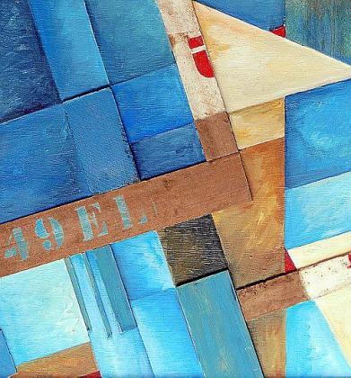 Cualquiera que contemple la obra del uruguayo Julio Bauzá sabe que se trata de sus creaciones. Sus pinturas son geométricas y casi siempre tienen en su paleta colores azules, marrones o verdes.