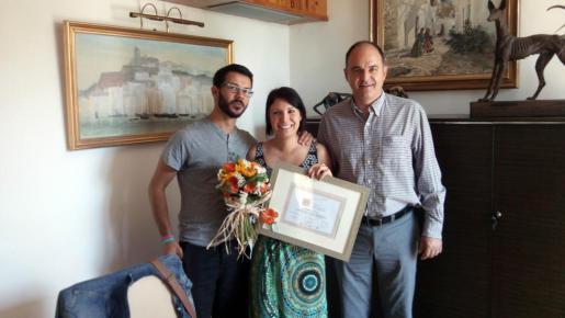 Laura Martínez, ganadora del concurso II Bloggin Santa Eulària.