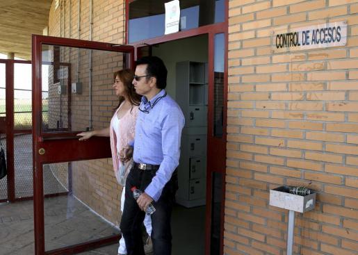 El diestro José Ortega Cano, saliendo de la cárcel de Zuera (Zaragoza) el pasado viernes.