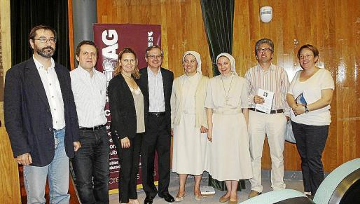 Jaime Vázquez, Pere Fullana, María Salom, Eduard Rigo, Carmen Teresa Vilar, María Canel, Joan Matas y Xisca Comas.