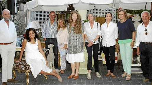 José María Janer, Laila de la Torre, Gabriel Vallejo, Mariángeles Cortés, Berta Truyols, Mercedes Truyols, Inés Rotger, Tin Bordoy y Gaspar Aguiló.