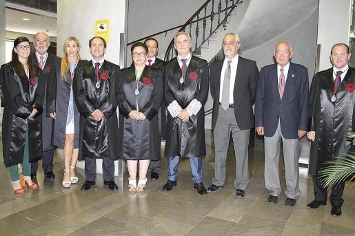 Patricia Colmenares, Pedro Monjo, Inma Riera, Salvador Perera, Regina Vallés, Miquel Albertí, Martín Aleñar, Francisco Martínez Espinosa, Miquel Masot y Rafael Gil.